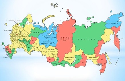 Субьекты РФ